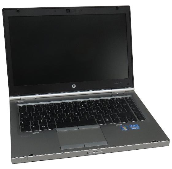 HP EliteBook 8470p Core i5 3360M 2,8GHz 4GB 180GB SSD DVD±RW Webcam (Akku fehlt)