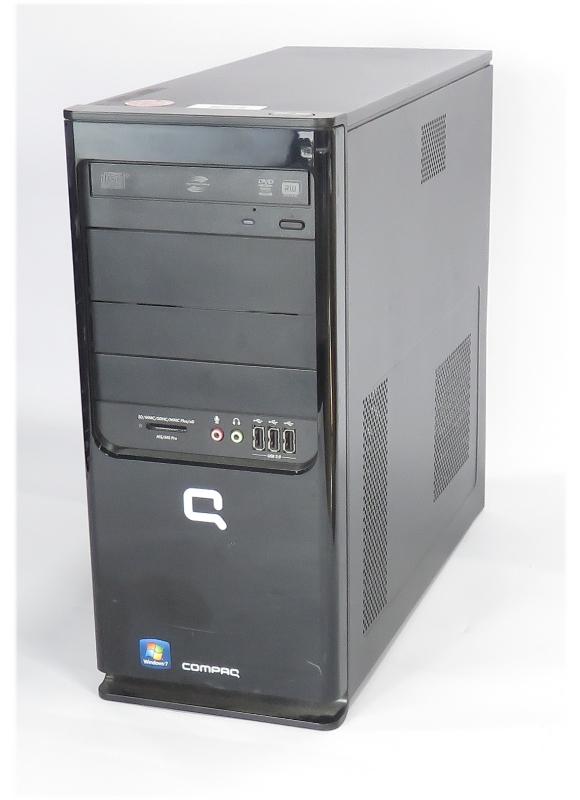 HP Compaq 315eu Tower PC AMD Athlon X2 @ 2x 2,7GHz 4GB DDR3 1TB DVDRW Kartenleser B-Ware