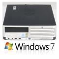 HP Compaq dc7700 Celeron D 352 @ 3,2GHz 2GB 80GB Windows 7 64bit