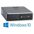 HP Elite 8300 SFF Quad Core i5 3470 @ 3,2GHz 4GB 500GB DVD Windows 10 Pro