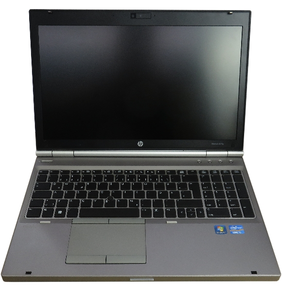 "15,6"" HP EliteBook 8570p Core i5-3320M 2,6Ghz 4GB 320GB DVDRW 1600x900 Webcam"