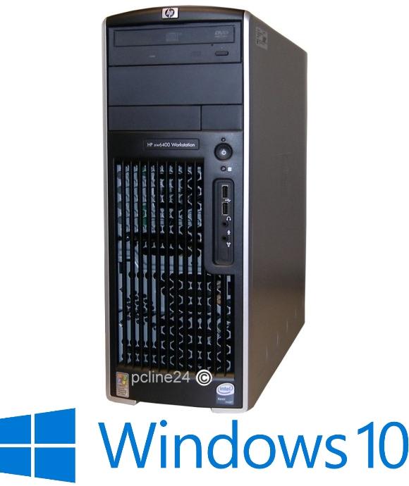 HP xw6400 2x Xeon Dual Core 5140 @ 2,33GHz 4GB 500GB DVD Windows 10 Pro B-Ware