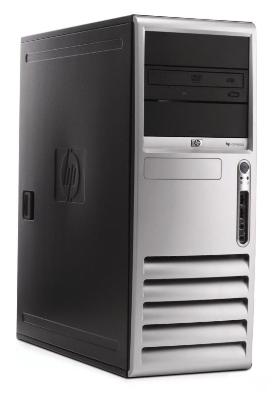 HP/Compaq dc7700 Core 2 Duo E6400 @ 2,13GHz 2GB 80GB DVD Tower PC Computer