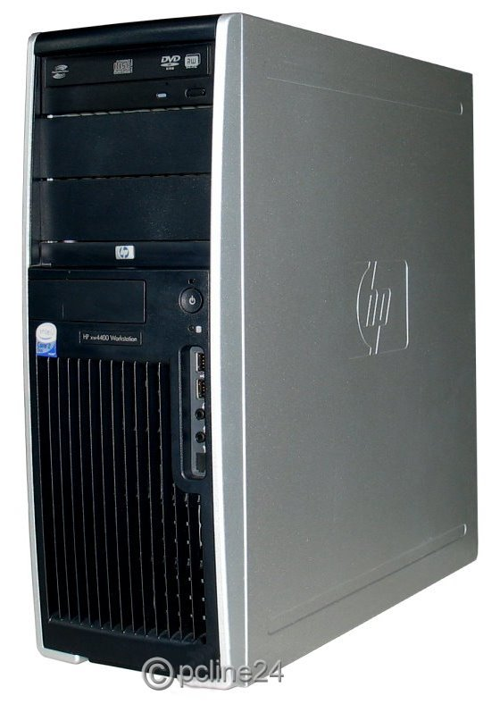 HP xw4400 Core 2 Duo E6700 @ 2,66GHz 4GB 250GB DVD Quadro NVS 285 Workstation B-Ware