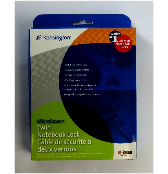 Kensington MicroSaver Twin Lock NEU/NEW Notebookschloß