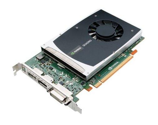 High-End-Grafikkarte HP Nvidia Quadro 2000 1GB GDDR5 DVI 2x DisplayPort