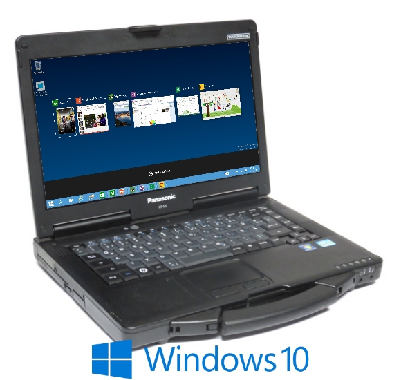 "14"" Panasonic Toughbook CF-53 MK2 Core i5 3320M @ 2,6GHz 8GB 500GB Windows 10 Pro"