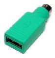 PS2 / USB Adapter für Maus für Laptop und PC
