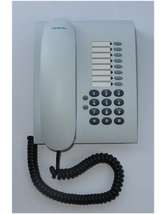 Siemens optiPoint 500 Entry arctic weiß Systemtelefon Hipath