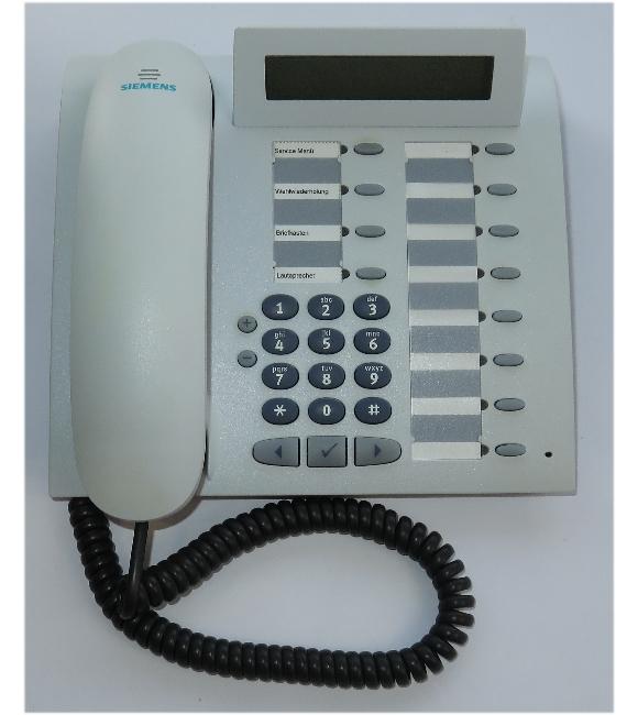 Siemens optiPoint 410 Standard arctic IP-Systemtelefon SIP