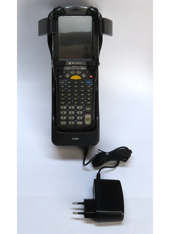 Motorola/Symbol MC9094 2D QR Barcode WLAN GPS Windows Mobile BT mit Netzteil + Wandhalter B-Ware