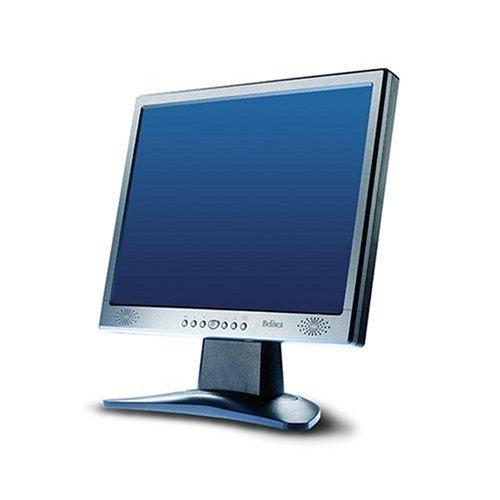 """15"""" LCD TFT Belinea 10 15 55 silber-schwarz Monitor"""