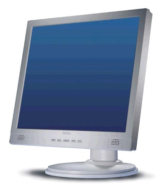 """19"""" TFT LCD Belinea 101915 Pivot 8ms 1000:1 DVI TCO\' 03"""