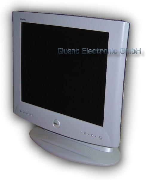"17"" TFT LCD DELL 1702FP UltraSharp DVI-D 500:1 ohne Netzteil"