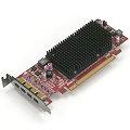 AMD ATI FirePro 2460 Multi-View 512MB PCIe x16 2.1 4x mini DisplayPort Low Profile passiv