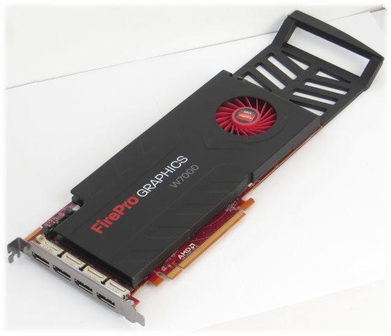 AMD FirePro W7000 4GB GDDR5 PCIe x16 Gen3/PCIe 3.0 4x Displayport