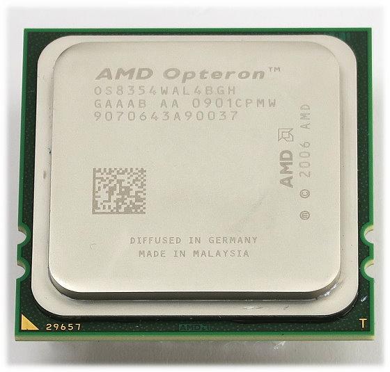 AMD Opteron 8354 4x 2,2GHz Quad-Core OS8354WAL4BGH Sockel Fr2 (1207) 3.Generation