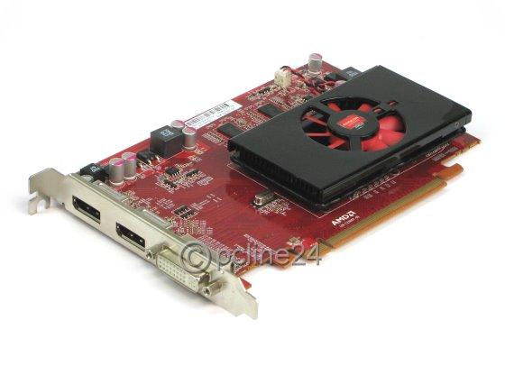 AMD Radeon HD 6570 1GB PCIe x16 Gen2.0 Grafikkarte 1x DVI-I 2x DisplayPort