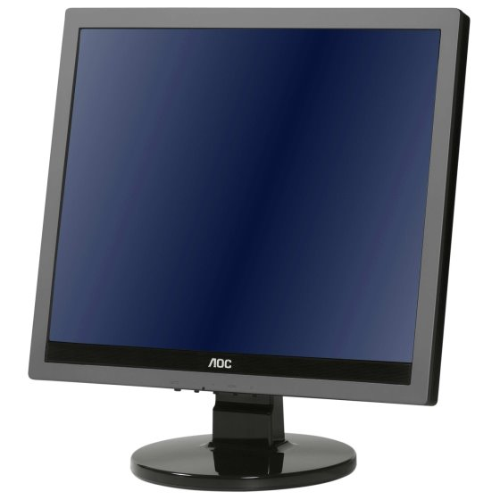 "19"" TFT LCD AOC 919Va2 VGA DVI HDCP Monitor"