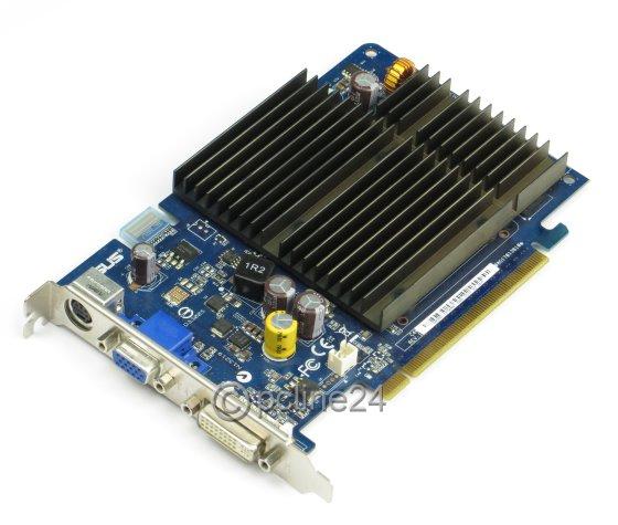 ASUS EN8500GT 256MB nVidia GeForce 8500GT PCIe x16 D-Sub DVI fanless Silent