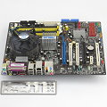 ASUS P5LD2 Deluxe Rev1.03 Mainboard ATX + CPU P4 3GHz + Kühler + Lüfter + Blende