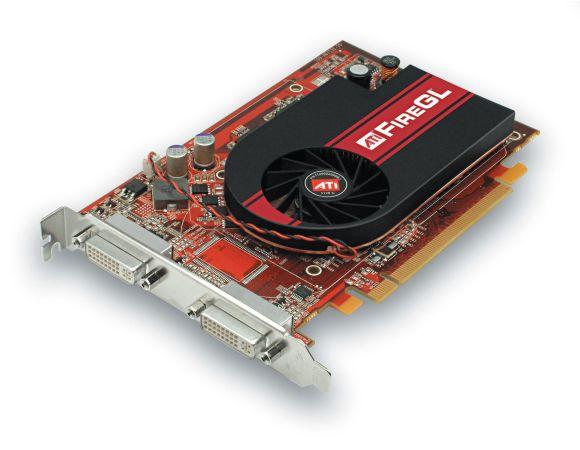 ATI Fire GL V3350 Grafikkarte PCIe x16 256MB Dual-DVI