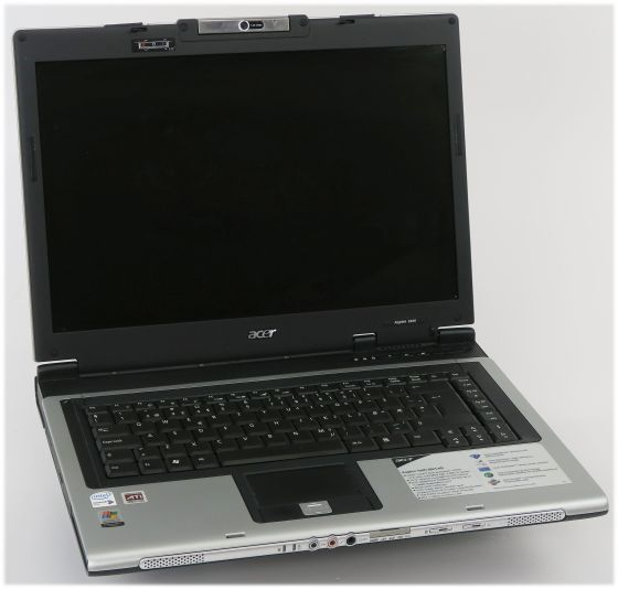 "15,4"" Acer Aspire 5600 Dual Core 1,6GHz 1GB (ohne NT/HDD) norw. B-Ware"