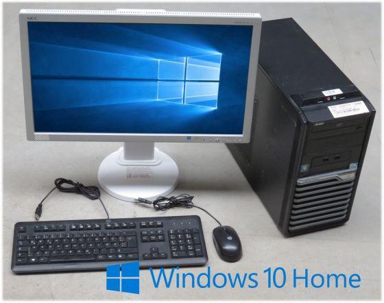 "Computer Komplett System Acer M4620G + 23"" NEC TFT Monitor + Windows 10 64bit"