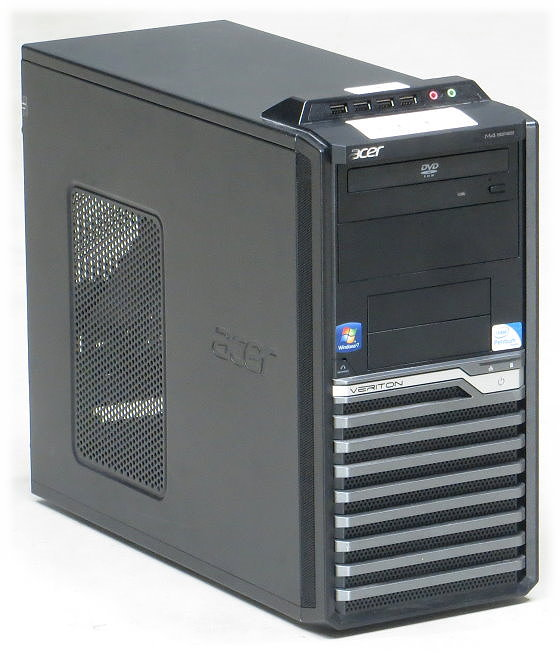 Acer Veriton M4610G Intel Quad Core i5-2320 @ 3GHz 4GB 500GB DVD-ROM Mini-Tower