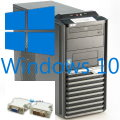 Leiser Büro Rechner Dual Core mit Windows 10 Home x64 DDR3 USB3.0