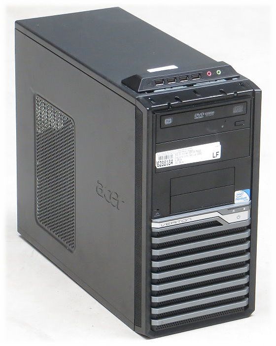 Acer Veriton M490G Dual Core G6950 @ 2,8GHz 4GB 320GB DVD±RW Tower