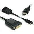 Displayport auf DVI Adapter Kabel 0,1m schwarz DP to DVI-D