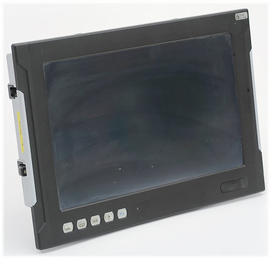"""AdsTec DVG-OPC7015 Celeron SU2300 @ 1,2GHz 4GB 500GB 15,4"""" Touch Industrie PC 24V"""