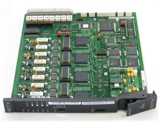 Alcatel DECT8 3BA 53173 Platine Baugruppe für OmniPCX 4400