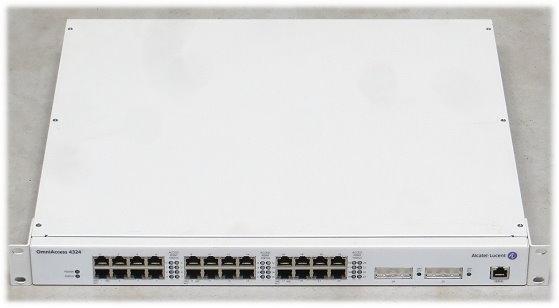 Alcatel Lucent OmniAccess 4324 Switch für Access Point 24x Port PoE