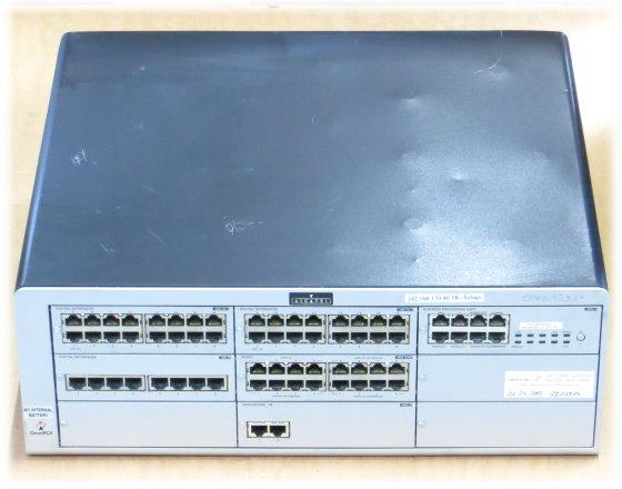 Alcatel OmniPCX Enterprise Communication Server 2x UAI16-1 UAI8  BRA2 MIX4/4/8 CPU-1