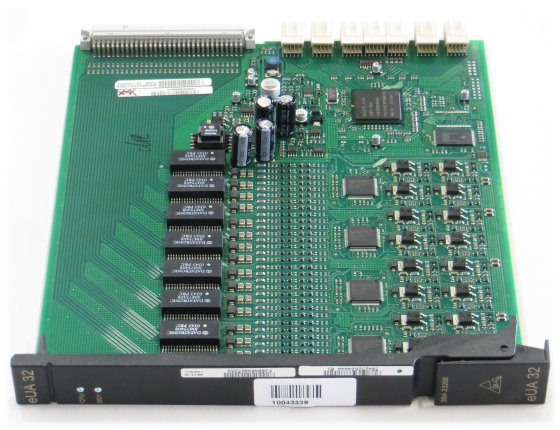 Alcatel eUA 32 3BA 23266 Platine Baugruppe für OmniPCX 4400