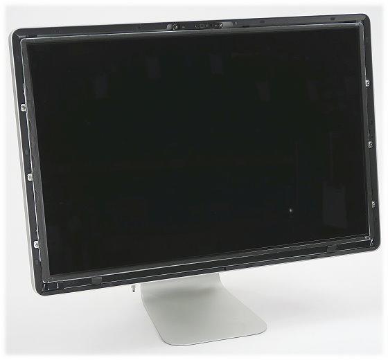 """24"""" TFT Apple Cinema LED Display A1267 defekt ohne Glasscheibe/Frontblende"""