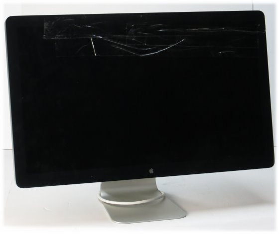 "Apple 27"" Thunderbolt Display 2560 x 1440 defekt Glasbruch keine Funktion"