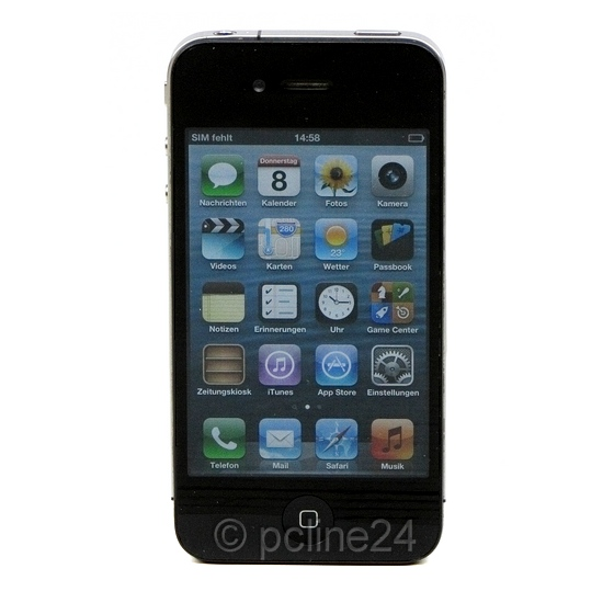Apple iPhone 4 schwarz 8GB Smartphone SIMlock-frei