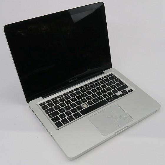 """13"""" Apple MacBook Pro 5,5 C2D 2,26GHz 8GB 250GB SSD (Keyb. def.) Mid 2009 B-Ware"""