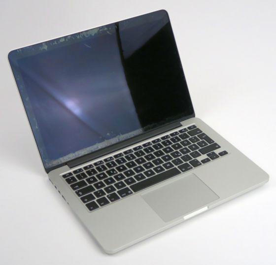 Apple MacBook Pro 11,1 i7 4558U 2,8GHz 16GB 2014 defekt Wasserschaden (ohne NT)