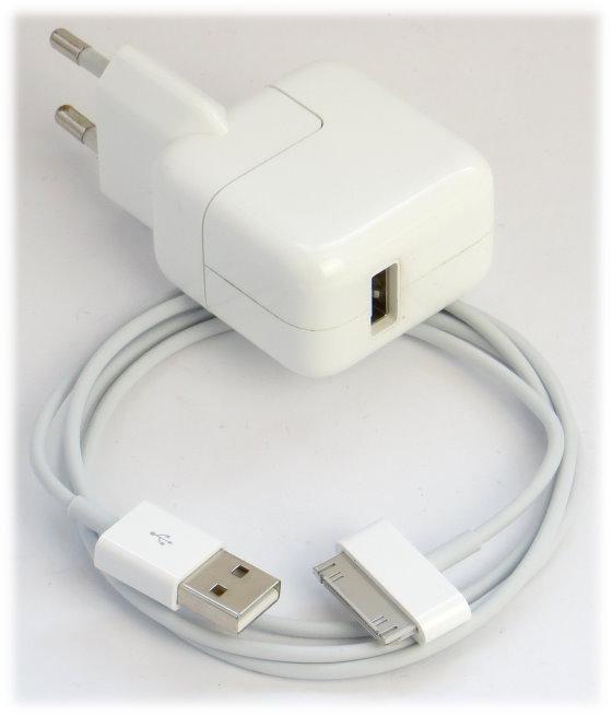 Apple Netzteil original A1357 für iPad 1 2 3 iPhone 3G 3Gs 4 4s USB 5,1V 2,1A