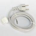 """Apple Stromkabel 1,8m original für iMac 21,5"""" 24"""" 27"""" Schuko auf C13"""