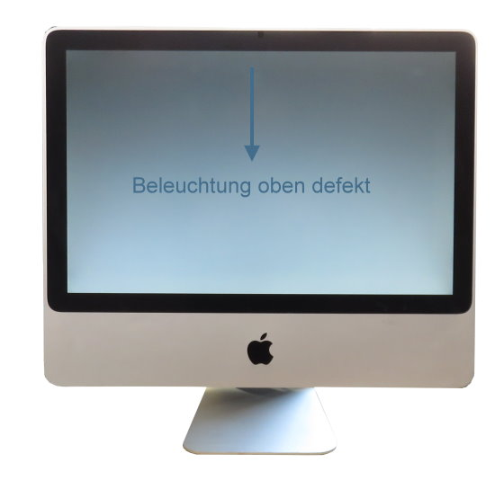 "Apple iMac 20"" 9,1 A1224 Core 2 Duo E8135 2,4GHz 4GB ohne HDD C-Ware Early 2009"