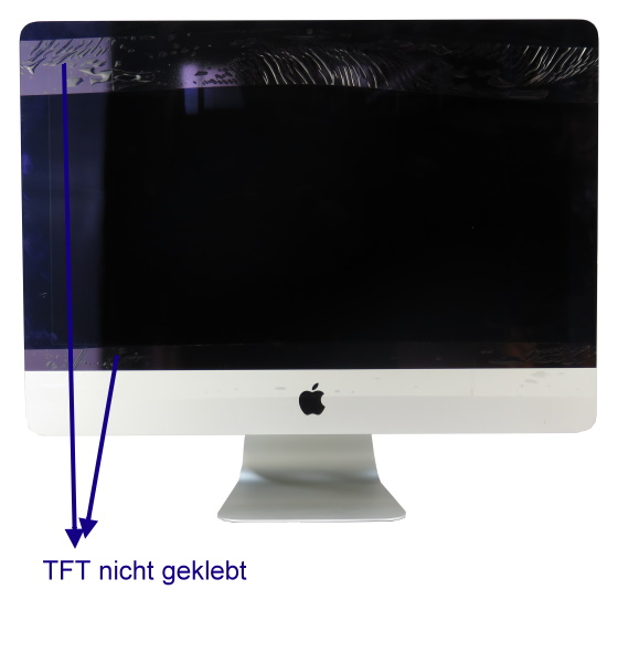 "Apple iMac 21,5"" 14,1 Quad Core i5 4570R @ 2,7GHz 8GB (Late 2013) defekt keine Funktion"