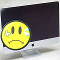 "Apple iMac 21,5"" 14,1 Quad Core i5 4570R @ 2,7GHz 8GB 256GB SSD Late 2013 Glasbruch"