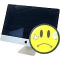 """Apple iMac 21,5"""" 14,1 Quad Core i7 4770S @ 3,1GHz 16GB 256GB SSD Glasbruch B-Ware Late 2013"""