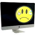 """Apple iMac 27"""" 11,3 Quad Core i7 870 @ 2,93GHz 4GB ohne HDD B- Ware Glasbruch Mid 2010"""