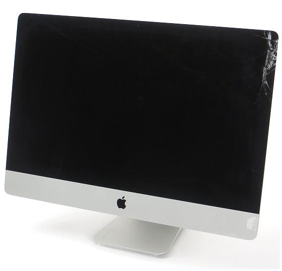 """Apple iMac 27"""" 5K 15,1 Core i5 4690 @ 3,5GHz 8GB 128GB Glasbruch C- Ware Late 2014"""